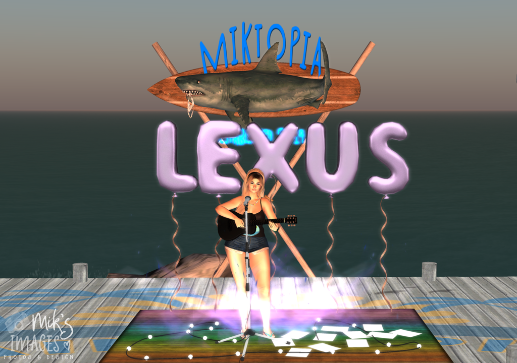 Lexus Melodie was the first act to perform at Miktopia LIVE!